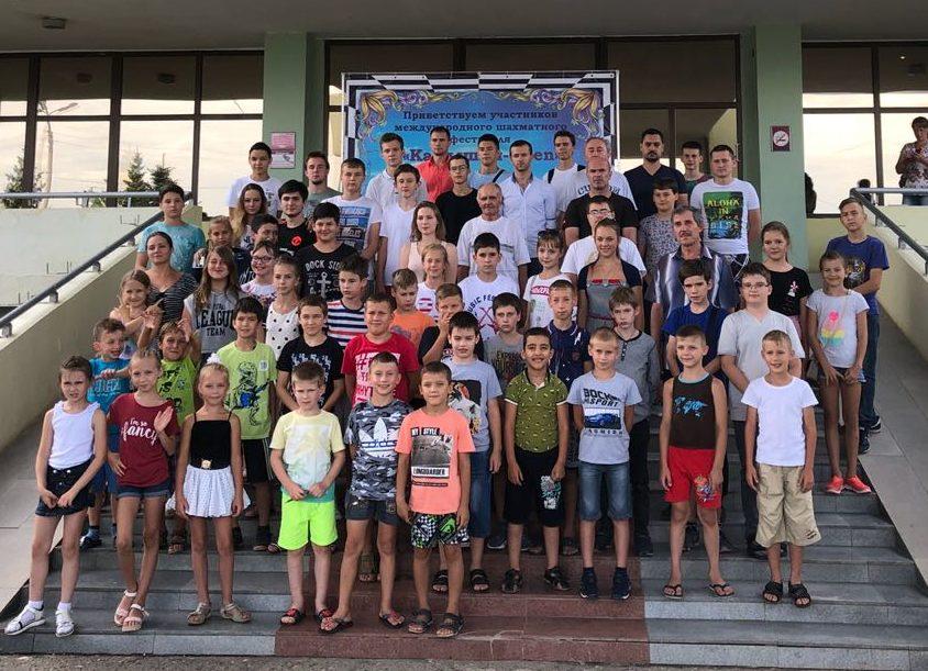 Шахматный лагерь в рамках фестиваля «Камышин-Open 2019»