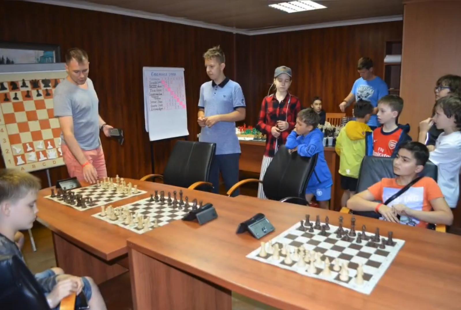 Шахматный лагерь в «Долина ИВолга 2020»